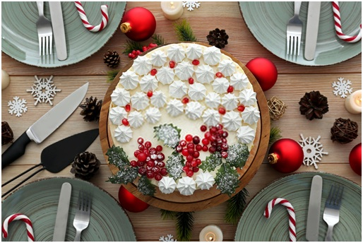 10 Best DIY Christmas cake Decoration Ideas!